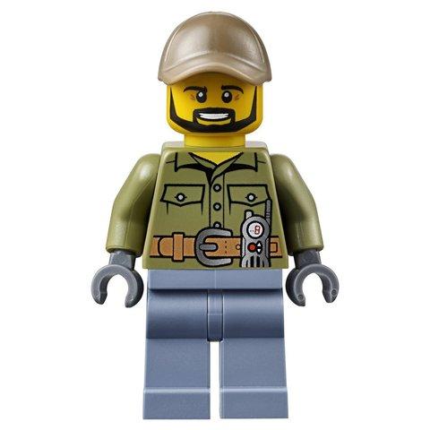 LEGO City: Грузовик исследователей вулканов 60121 — Volcano Exploration Truck — Лего Сити Город
