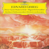 Edvard Grieg, Berliner Philharmoniker, Herbert von Karajan / Peer Gynt-Suiten 1 & 2, Sigurd Jorsalfar (LP)