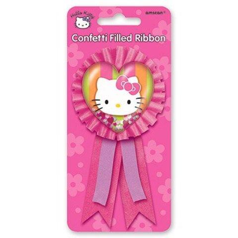 Значок Hello Kitty с розовой лентой/A
