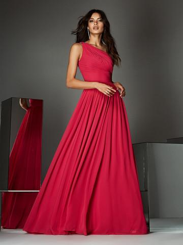 Вечернее платье классическое с драпированной длинной юбкой