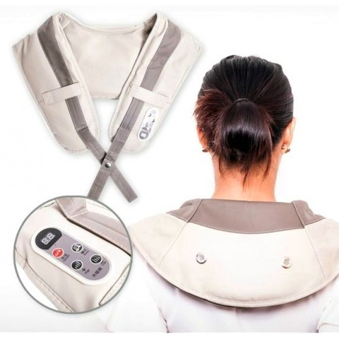 Ударный массажер для плеч и шеи cervical massage shawls