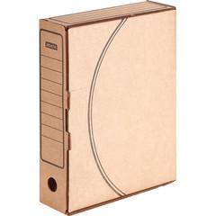 Короб архивный Attache Economy гофрокартон бурый 320x75x240 мм (5 штук в упаковке)