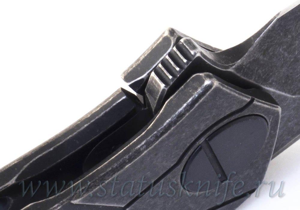 Нож Ратата Ratata CLR CKF (Коныгин, М390, титан, подшипники) - фотография