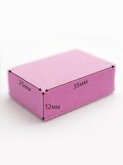 Баф мини, цвет розовый 120/120