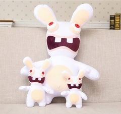 Бешеные кролики игрушка мягкая