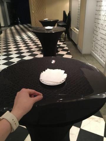 Скатерть прозрачная круглая 70 см толщина 1 мм