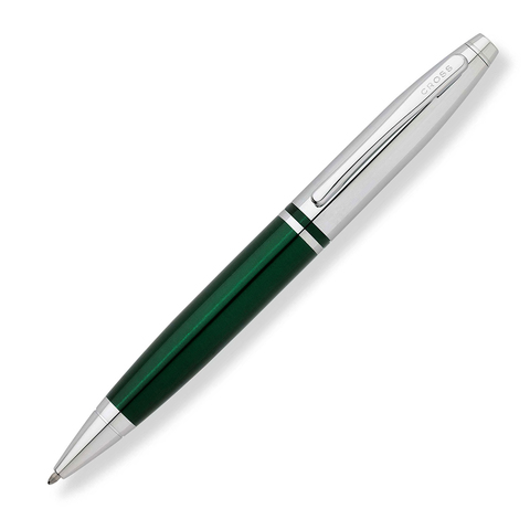 Cross Calais - Green Chrome, шариковая ручка, M, BL123