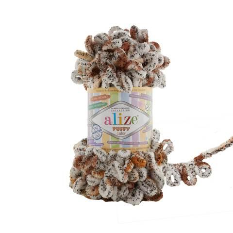 Купить Пряжа Alize Puffy Color Код цвета 7503 | Интернет-магазин пряжи «Пряха»