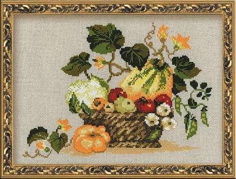Набор для вышивания крестом «Плоды осени» (1076)