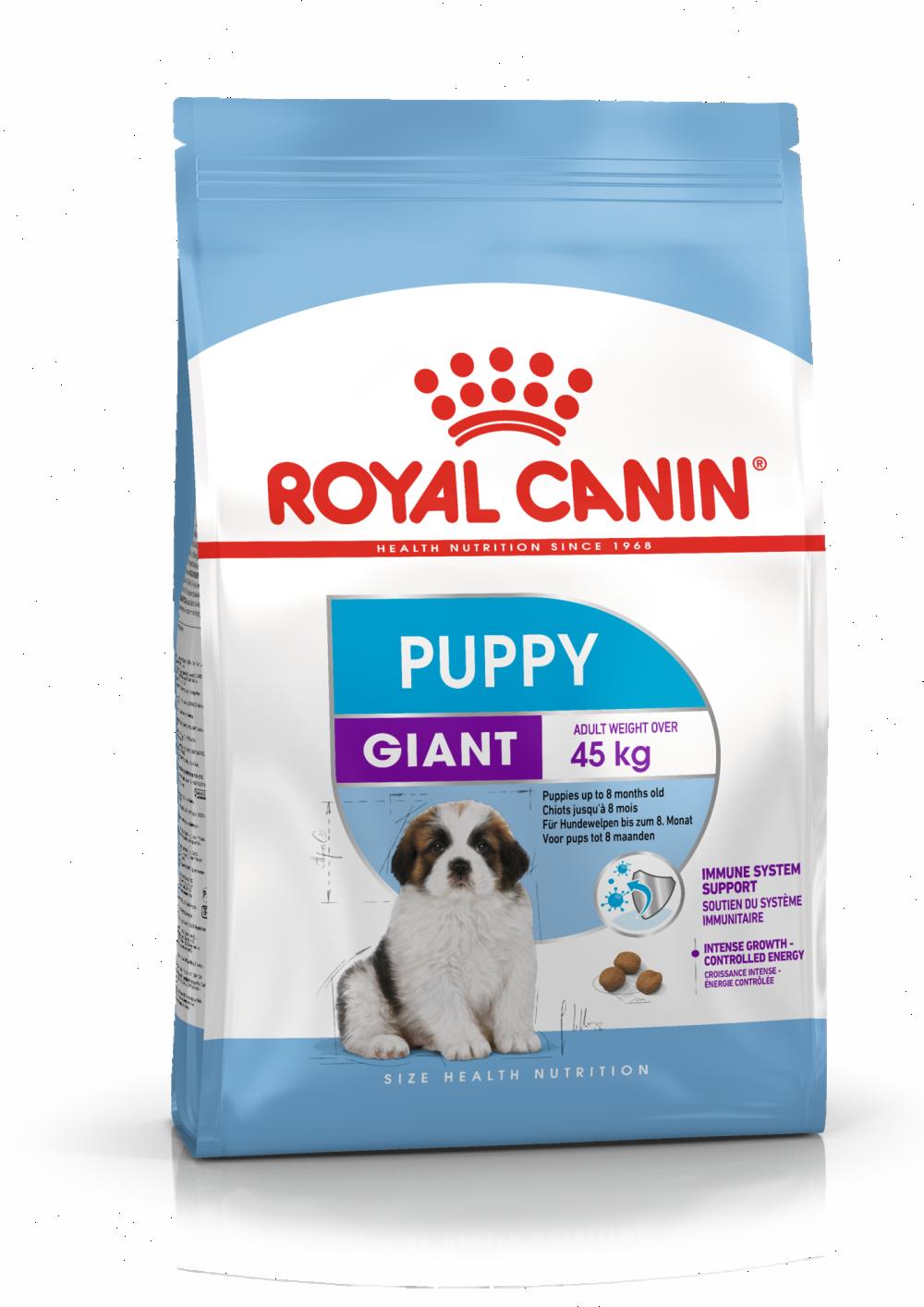 Сухой корм Корм для щенков очень крупных пород, Royal Canin Giant Puppy 4627109387113_1.png