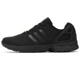 Кроссовки Мужские Adidas ZX Flux Black All