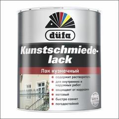 Лак матовый Dufa KUNSTSCHMIEDELACK (Чёрный)
