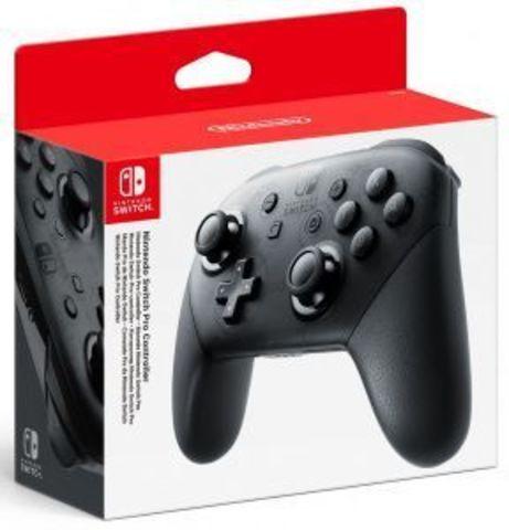 Беспроводной контроллер Switch Pro (Nintendo Switch, черный)