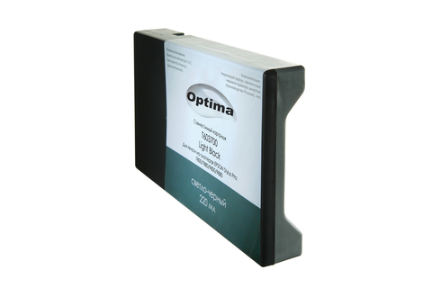 Картридж Optima для Epson 7800/9800 C13T606700 Light Black 220 мл
