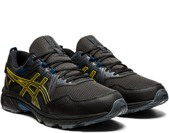 Кроссовки непромокаемые Asics Gel Venture 8 WP Black-Saffron мужские