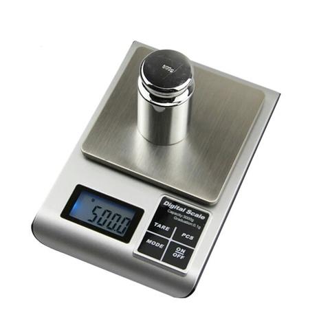Электронные весы, портативные с точностью 0,1 г, максимальный вес - 3000 г