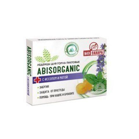 Леденцы Abis organic с иссопом и мятой БЕЗ сахара