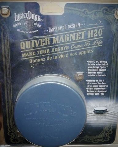 Плавающий вибромотор Lucky Duck - Quiver Magnet H2O