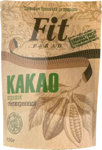 Fit Parad Какао обезжиренный, 150 г