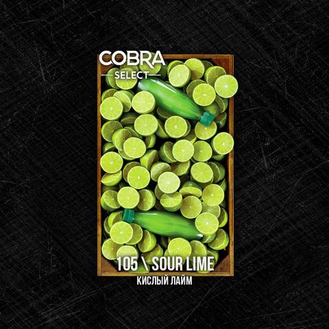 Табак Cobra SELECT Кислый Лайм (Sour Lime) 40 г