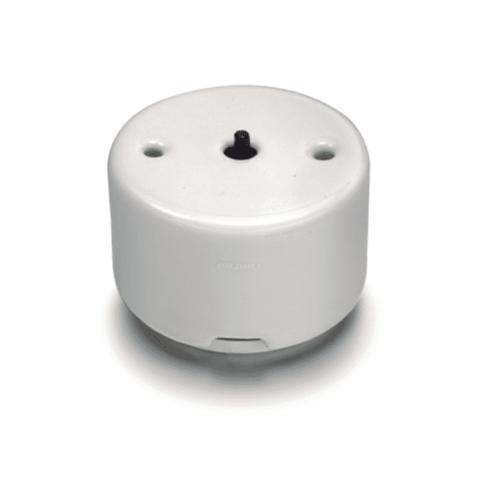 Выключатель/кнопка двойной, роторного типа без ручки 10А 250В~. Цвет Белый. Fontini DO(Фонтини До). 33344171