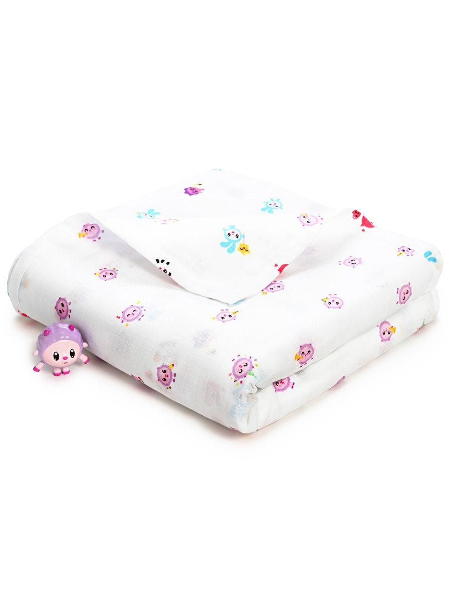 Муслиновая пеленка для новорожденных и детей Adam Stork барашик