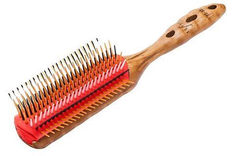 Щетка для волос Y.S. Park-451 Pro Wood Styler, 7 рядов