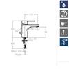 Смеситель для раковины RS-Q 930102 - фото №3