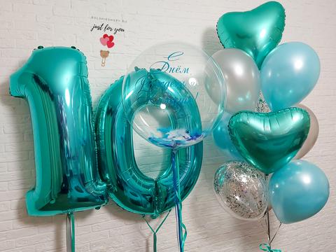 Воздушные шары тиффани