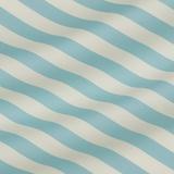 Хлопково-шёлковая полоска голубого цвета