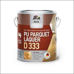 Лак полиуретановый для паркета Dufa PU Parquet Laquer D333 (Прозрачный)
