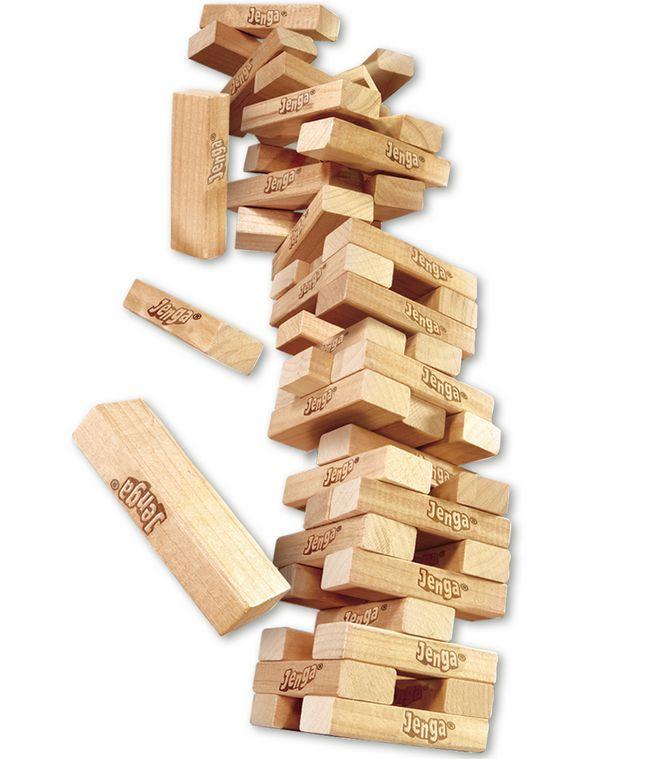 Настольная игра Jenga Classic (Дженга башня)