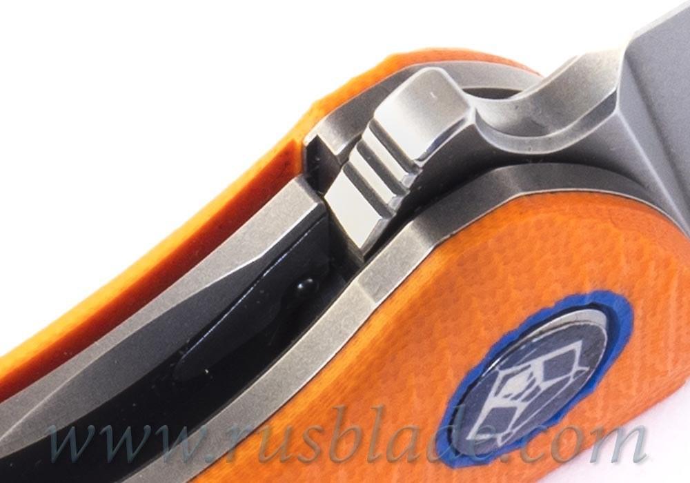 Shirogorov F3 Elmax G10 orange RARE - фотография