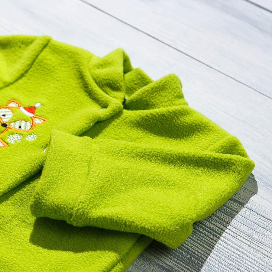Флисовый комбинезон для новорожденных