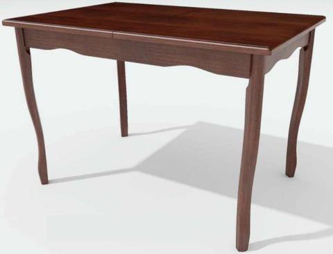 Стол обеденный Манул деревянный прямоугольный коньяк