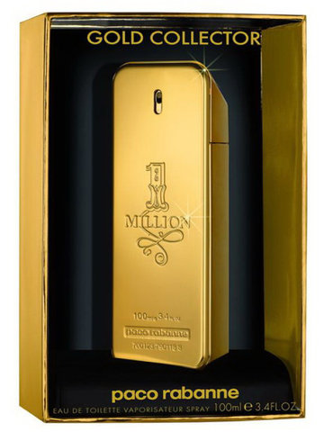 Paco Rabanne 1 Million Gold Collector, edt 100ml