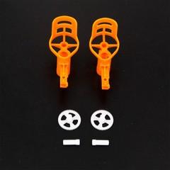 Держатель мотора оранжевый для квадрокоптера MJX X705C - MJX-X705C-7-O