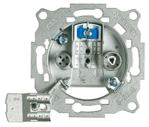 Механизм розетки TV-R-SAT, проходная. ABB (ABB). 8151.8