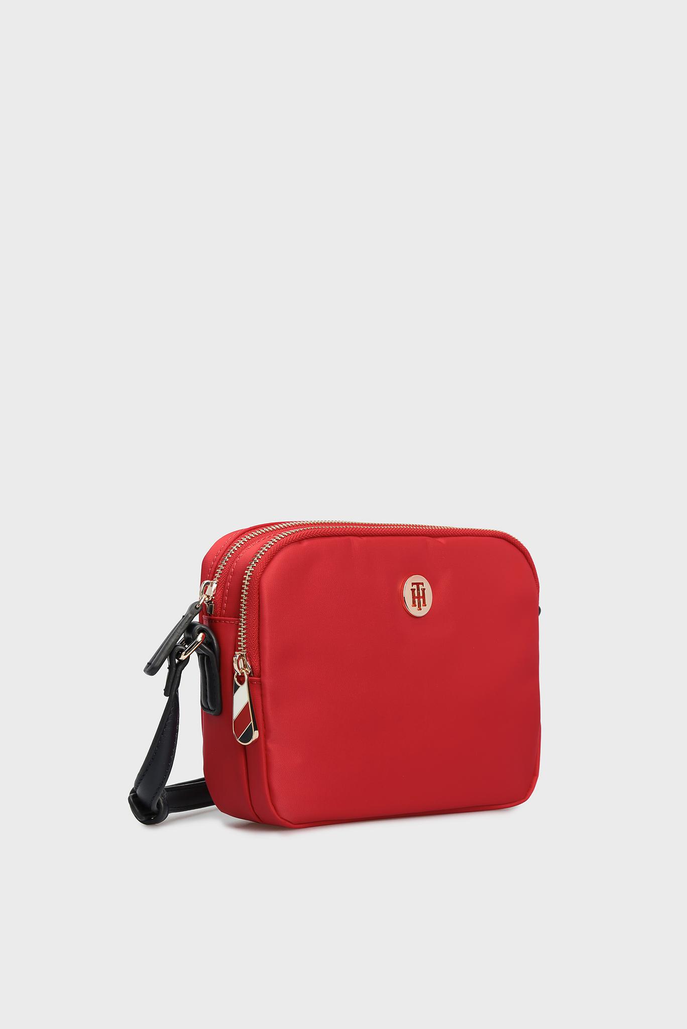 Женская красная сумка через плечо POPPY Tommy Hilfiger