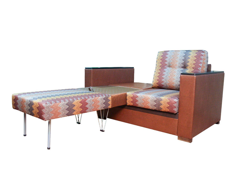 диван-кровать 2-местный Карелия-Люкс, две независимых части у спального места