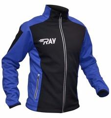 Утепленная лыжная куртка Ray Race WS Black-Blue