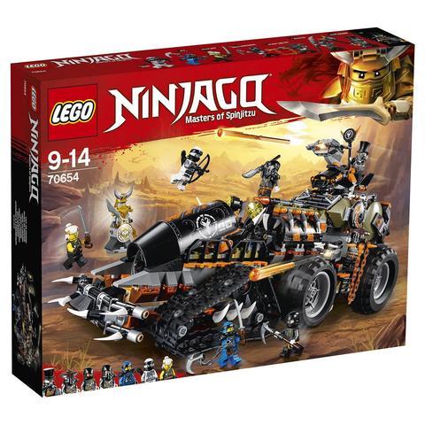 LEGO Ninjago: Стремительный странник 70654 — Dieselnaut — Лего Ниндзяго
