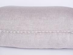 Подушка бамбуковая с льняным чехлом 68х68 Дивный Лен