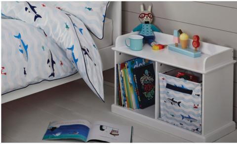 хранение книг и игрушек