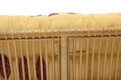 Комплект Нью Богота (NEW BOGOTA) ( диван + 2 кресла + стол со стеклом ) ротанг, кр:61х67х78,5см, дв:108х66х78,5см, ст:D60х56,5см, Honey (мед)