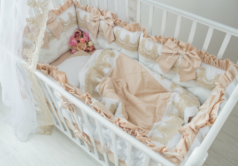 Комплект в кроватку Gold, на 4 стороны кроватки