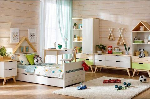 Мебель для детской комнаты Кидс 14 (орхидея/лак)