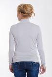 Водолазка для беременных 03742 серый