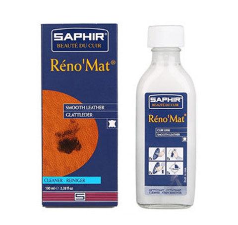 Очиститель для гладкой кожи Saphir Reno'mat  100мл