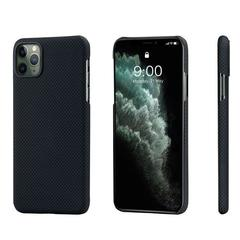 Чехол Pitaka MagEZ Case для Apple iPhone 11 Pro Max (Black/Gray Plain)